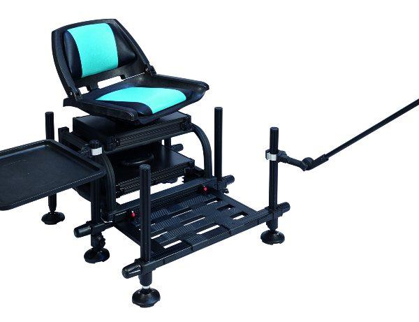 station feeder rive st8 gris seat j peche. Black Bedroom Furniture Sets. Home Design Ideas
